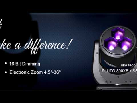 SSP PLUTO 800XE- moving light for wash