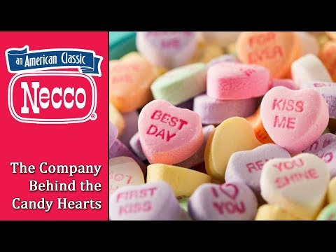 NECCO - The Company Behind the Candy Hearts