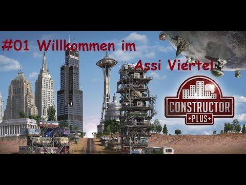 Let´s Play Constructor Plus: #01 - Willkommen im Assi Viertel