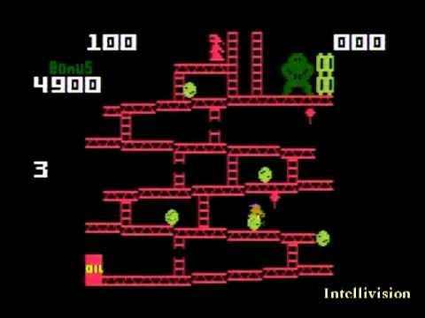 Donkey Kong (ATARI 2600,Intellivision,ColecoVision) COLECO