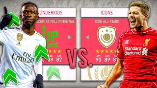Icon ALL-STARS vs Wonderkids At Full Potential - FIFA 20 Career Mode