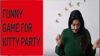 Girana nahi- Funny one minute kitty party game