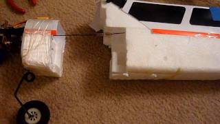 How To:  Fix a CRASHED Art-Tech Wingtiger, or any other RC foam airplane