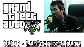 [GamingVlog] Cara Rampok Fleeca Bank - Unlock Armored Kuruma - GTA 5