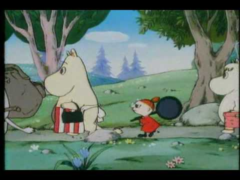 Scary Little Girl Wallpaper Moomin Opening Theme Song English Youtube