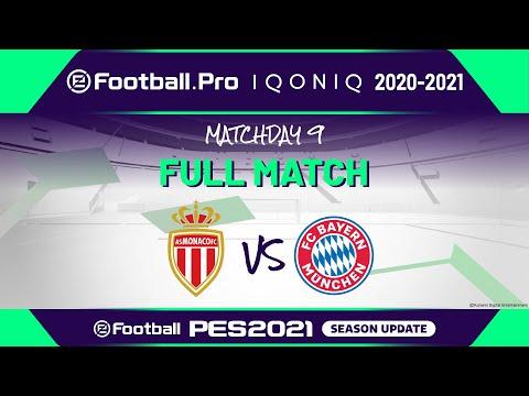 PES | AS MONACO VS FC BAYERN MÜNCHEN | eFootball.Pro IQONIQ 2020-2021 #9-4