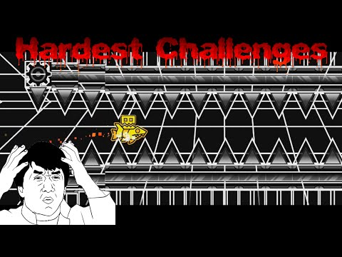Geometry Dash | [OFFICIAL] Top 20 Hardest Challenges In Geometry Dash [2.0]
