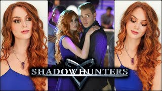 "Clary Fray ""Shadowhunters"" Makeup Tutorial & Copper Hair 