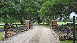 Lakefront Equestrian Farm in Dade City, Florida