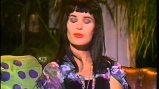 Shakespears Sister - MTV Australia interview 1989 Siobhan Fahey