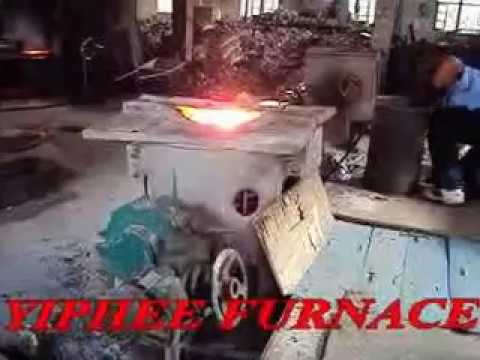 500 kg capacity cast iron melting for foundry