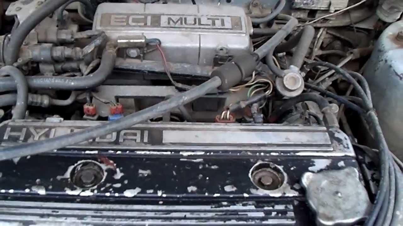 Стук двигателя хендай