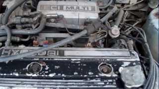 стук двигателя и перебои на холостом hyundai (ПРОБЛЕМА РЕШЕНА)