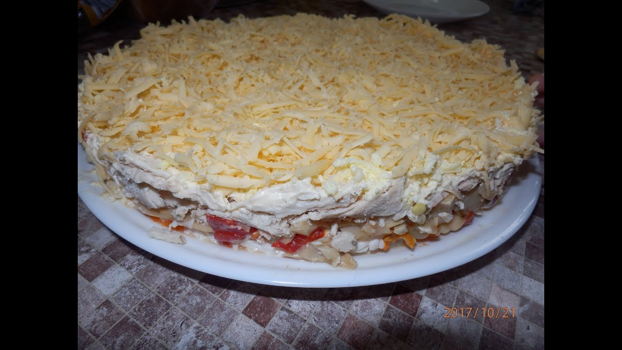 Салат сытый кум рецепт с 137
