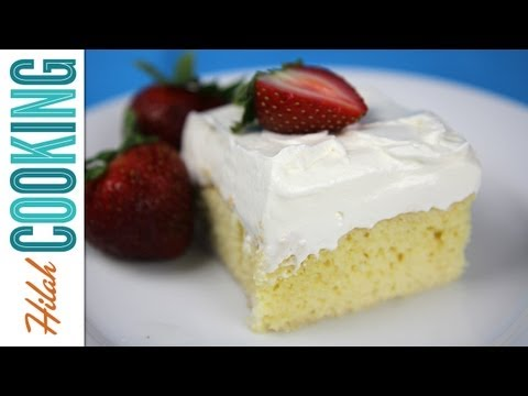 How To Make Tres Leches Cake | Hilah Cooking
