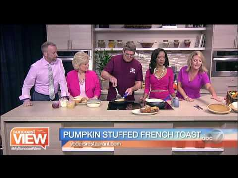 Pumpkin Stuffed French Toast