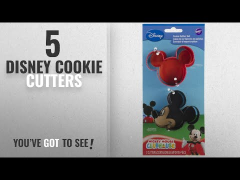 Best Disney Cookie Cutters [2018]: Wilton Mickey Mouse Cookie Cutter Set