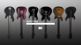 go lower 2017 6 string baritone electric guitar roundup