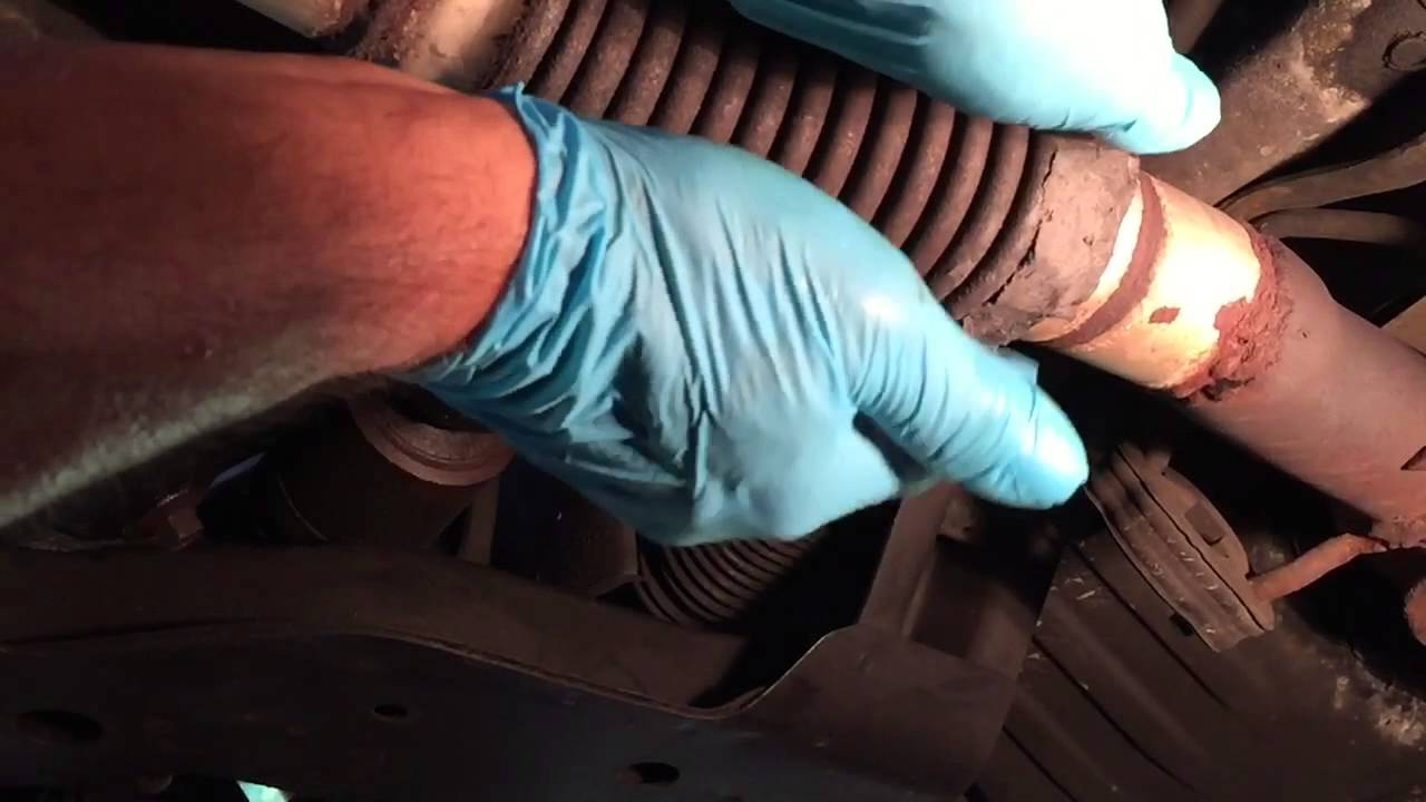 How To Repair Exhaust Flex Pipe Fast Easy amp Cheap YouTube