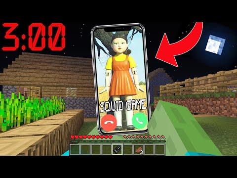 GECE 03:00'TE SQUİD GAME BENİ ARIYOR 😱 – Minecraft