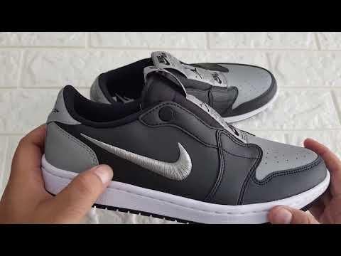 """Nike Air Jordan 1 Low """"SHADOW"""" Review"""