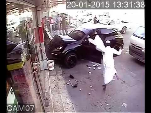 QATAR Car Accident  Cctv Camra