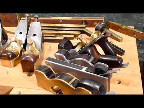 Премиальные инструменты британских краснодеревщиков. British Antique Woodworking Handtools