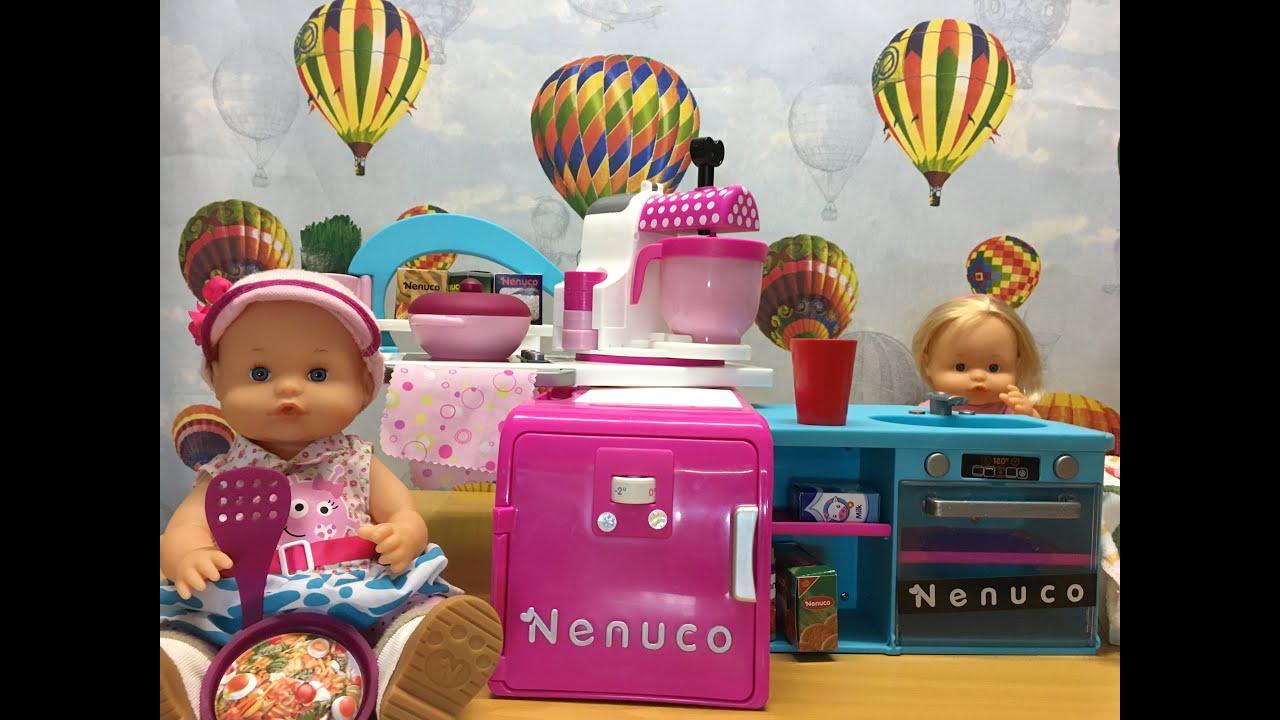 La bebe nenuco cocina con la cocina de nenuco cap tulo 31 de las aventuras de la bebe youtube - Cocina de nenuco ...