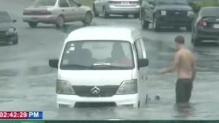 Dominican Republic News 2016 | Hurricane Matthew causes flood in sectors of Santo Domingo