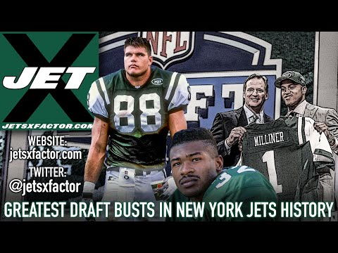 Greatest New York Jets Draft Busts & Blunders Of All-Time | Jet X Video