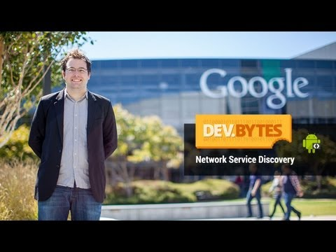 DevBytes: Network Service Discovery