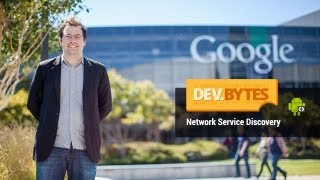 DevBytes: Network Service Discovery(Android's Network Service Discovery (NSD) allows apps to find nearby peers on their local network, useful for multiplayer gaming, collaboration, or otherwise ..., 2013-09-23T15:46:31.000Z)