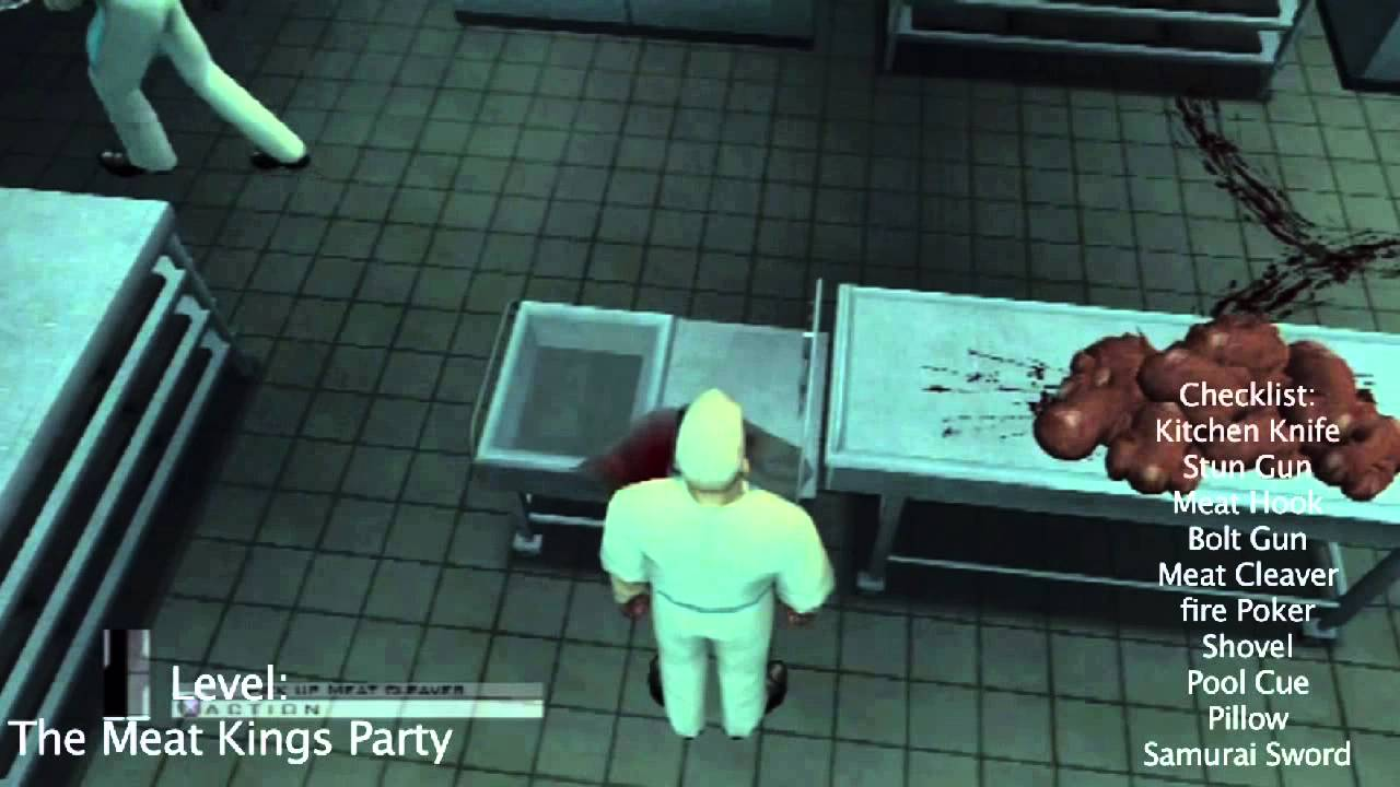 Hitman Contracts Hd All Melee Weapons Found Trophy Achievement Youtube