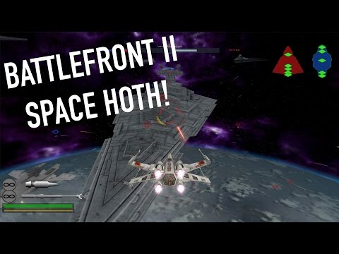 (2005) Star Wars Battlefront II SPACE HOTH BATTLE