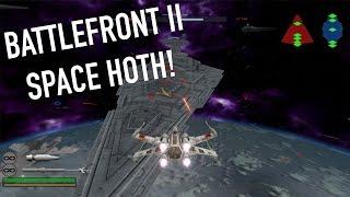 (2005) Star Wars Battlefront II SPACE HOTH BATTLE