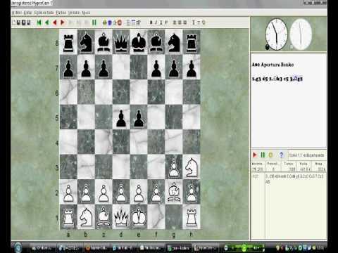 jugada de ajedrez enroque - YouTube