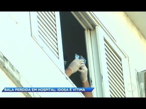 Mulher é atingida por bala perdida em hospital