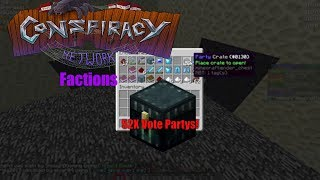 OPENING 52 VOTE PARTY CRATES + BASEWORK - Conspiracy Craft Factions Episode 16
