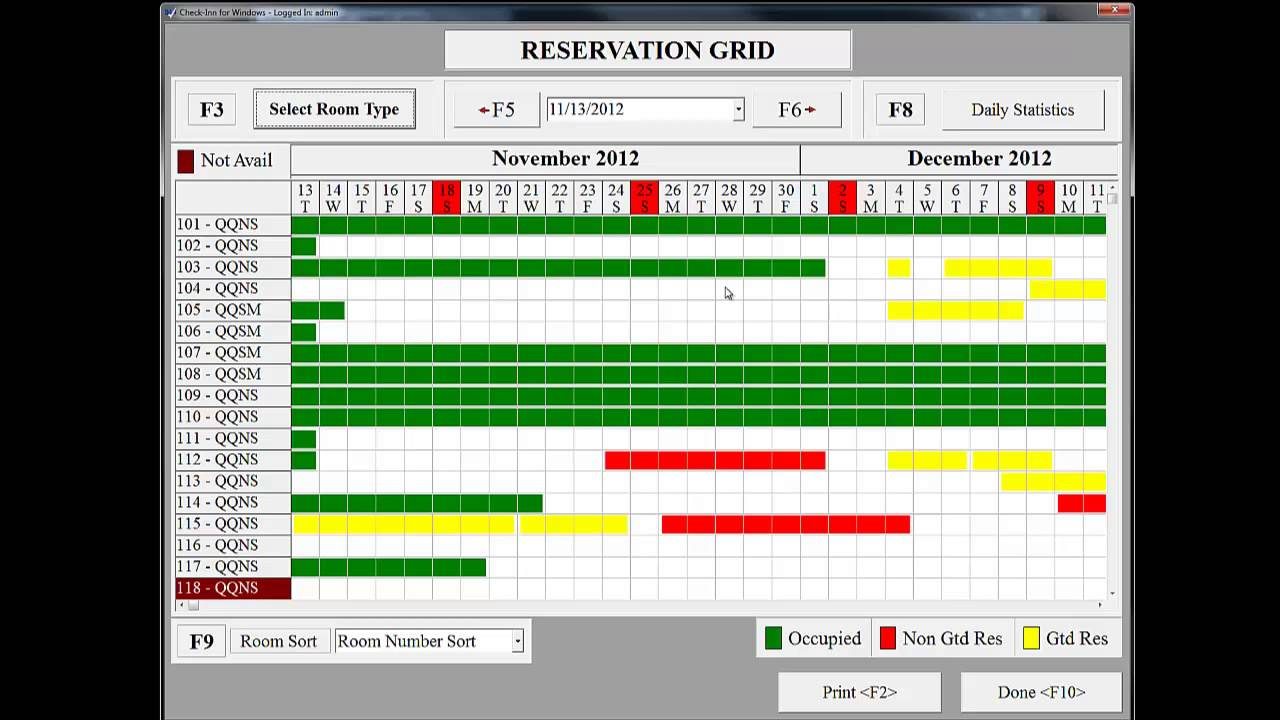 Room Reservation Open Source Software