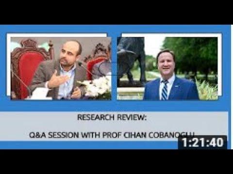 Prof Cobanoglu Research Meeting