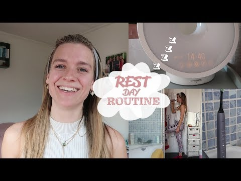 REST DAYS | Workout split, recovery and rest day routine