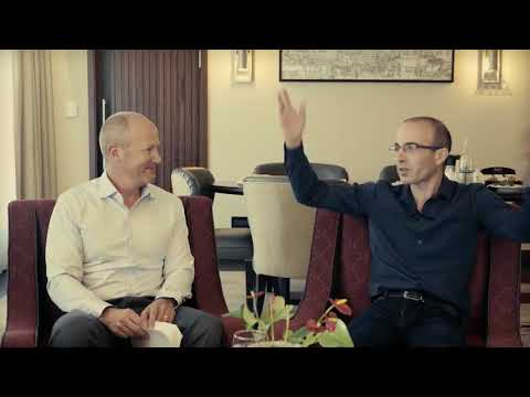 McKeel Hagerty interviews best-selling author Yuval Harari