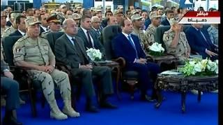 بالفيديو| بدء افتتاح عدد من المشروعات القومية بتلاوة آيات من القرآن الكريم