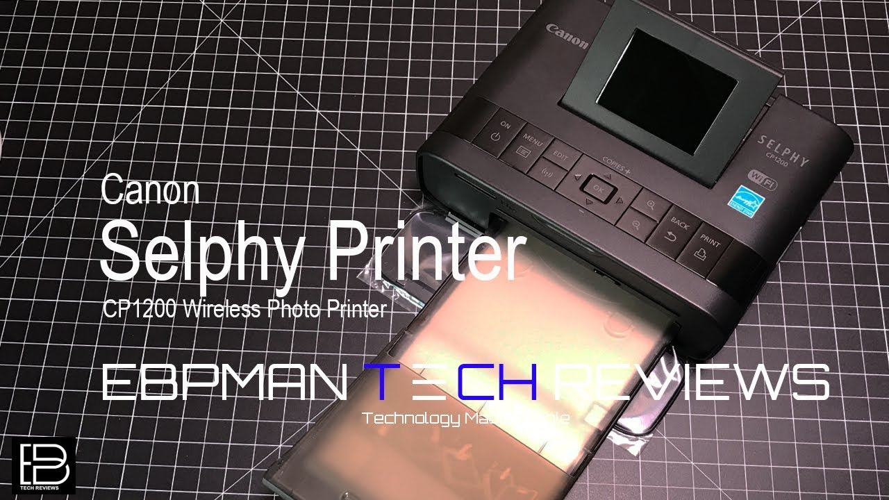 Canon selphy cp1200 wireless photo printer for diy photo booth ebpman ebpmantech ebpmantechreviews solutioingenieria Image collections
