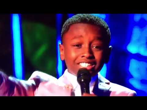 Miles singing For Every Mountain on Little Big Shots 3182018