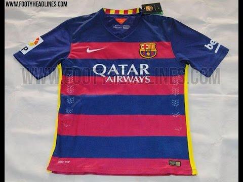 Como Hacer el Uniforme de local del FC BARCELONA 2015-2016 en PES ... cf223506f1926