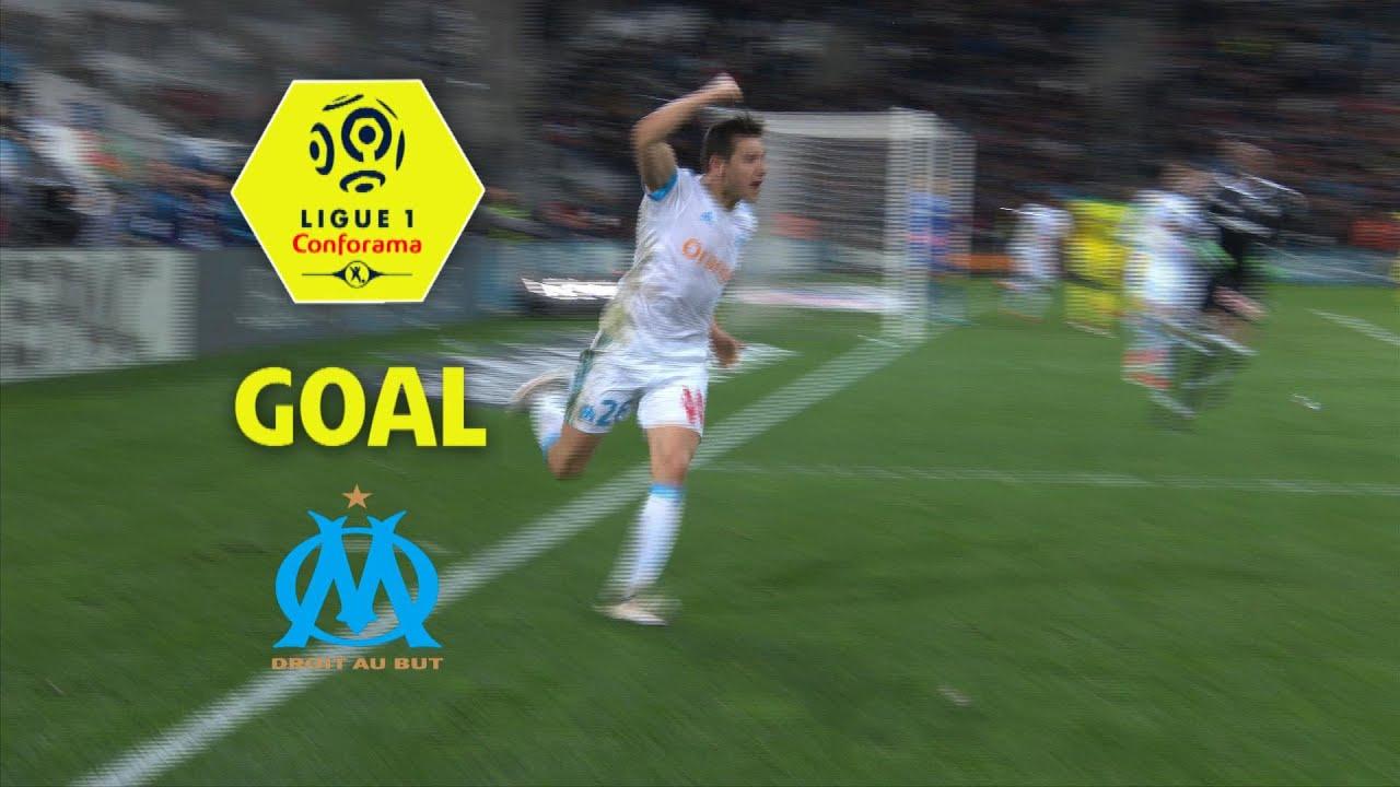 Goal Florian THAUVIN (90' 5) / Olympique de Marseille - FC Nantes (1-1) / 2017-18