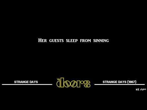 Lyrics for Strange Days - The Doors