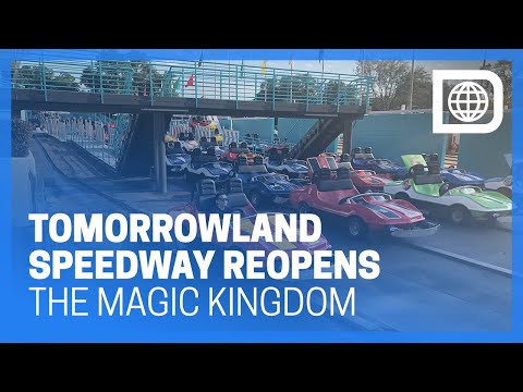 Tomorrowland Speedway Reopens with Modifications for TRON Coaster - Magic Kingdom
