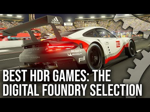[4K HDR] Best HDR Games For PS4/Xbox One - The Digital Foundry Selection